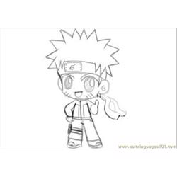 Narutosketch  By Patino Kun Free Coloring Page for Kids