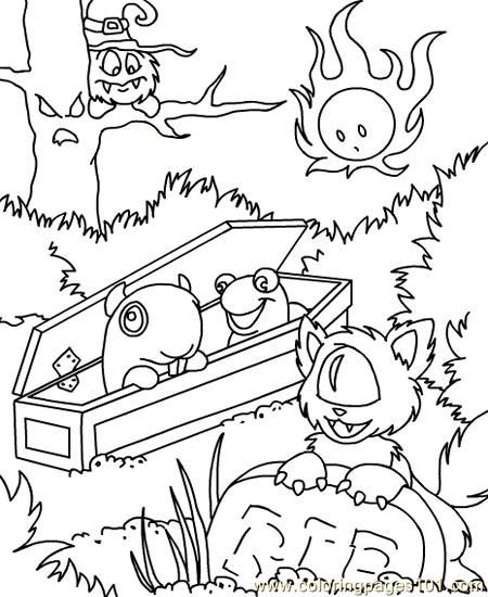 neopets print out coloring pages - photo#46