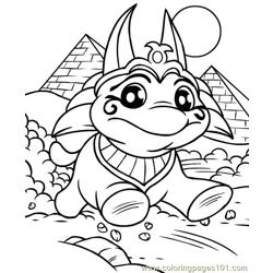 Neopets1 (45) Free Coloring Page for Kids