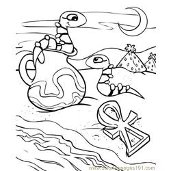 Neopets1 (51) Free Coloring Page for Kids