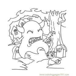 Neopets1 (58) Free Coloring Page for Kids