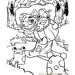 Neopets1 (7) Free Coloring Page for Kids