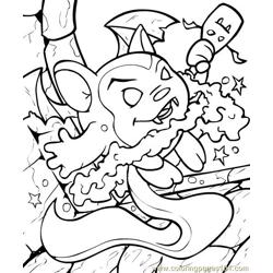 Neopets1 (8) Free Coloring Page for Kids