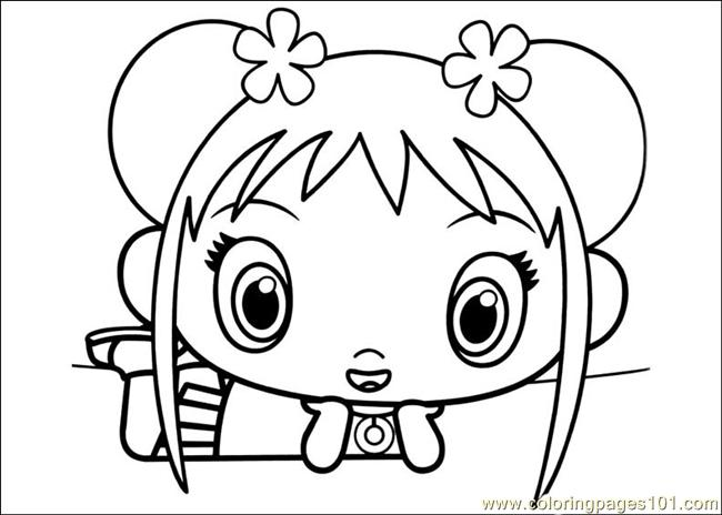 kai lan coloring pages - photo#5