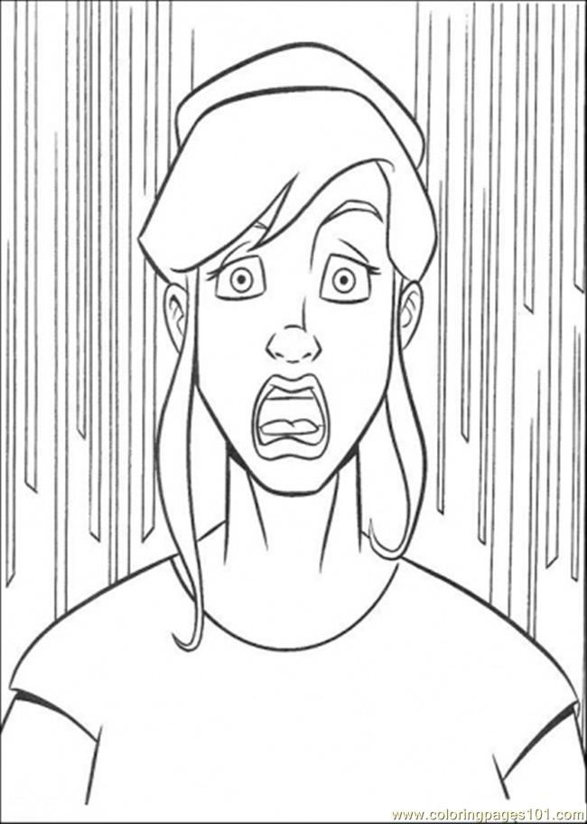 O Neil Is Surprised Coloring Page - Free Teenage Mutant ...