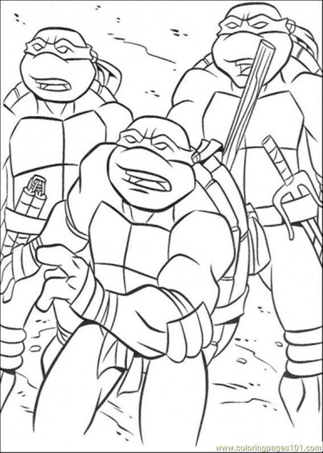 t ninja turtles coloring pages - photo #33