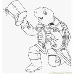 E Turtle Coloring Pages 1 Med