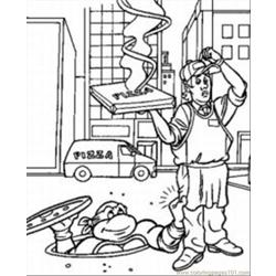 Turtles Coloring Pages 11 Med coloring page