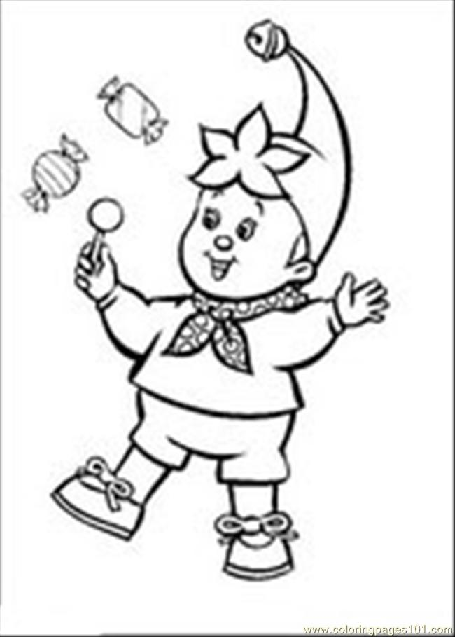 Noddy Coloring Page - Free Noddy Coloring Pages : ColoringPages101.com