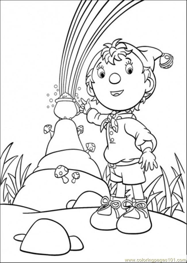 Noddy And Friends 7 Coloring Page