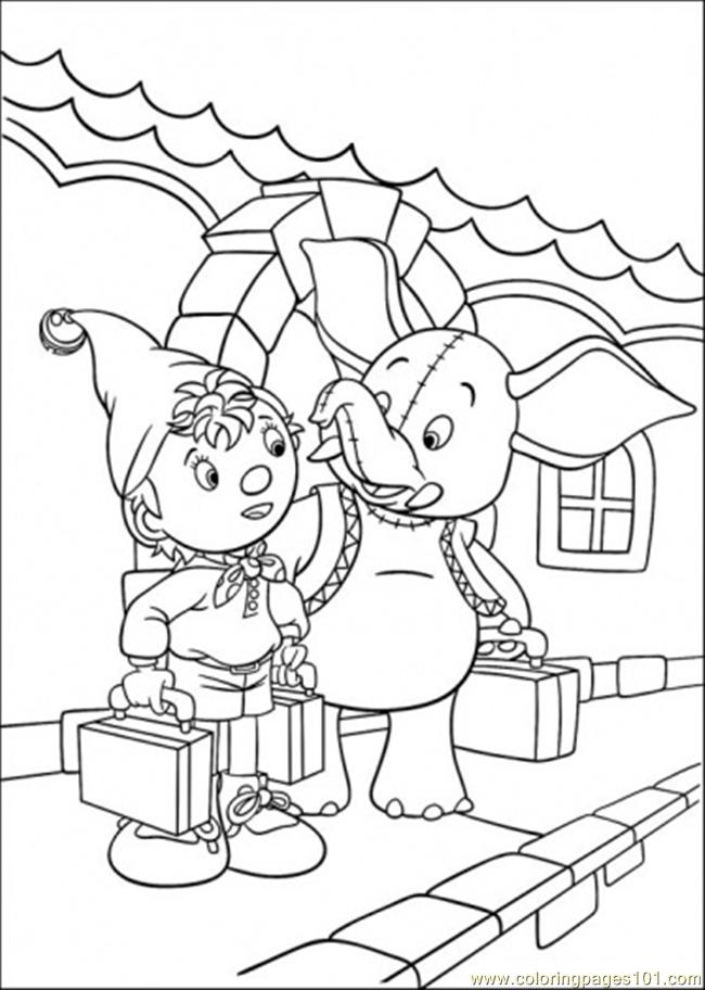 Noddy And Mr Jumbo Coloring Page - Free Noddy Coloring Pages ...
