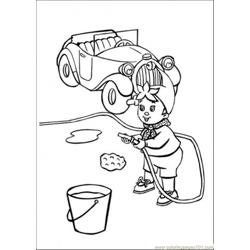 Noddy Washes The Car