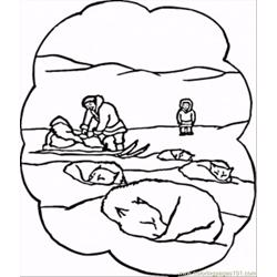 Bears Free Coloring Page for Kids