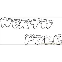Pole Free Coloring Page for Kids