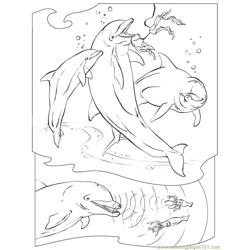 Ocean-Animals-Fish Free Coloring Page for Kids