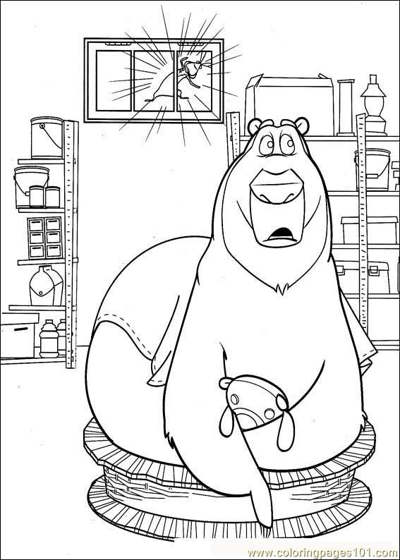 Open Season 02 Coloring Page