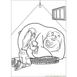 Open Season 01 Free Coloring Page for Kids