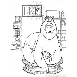 Open Season 02 Free Coloring Page for Kids