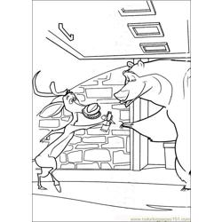 Open Season 04 Free Coloring Page for Kids