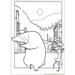 Open Season 05 Free Coloring Page for Kids