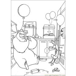 Open Season 09 coloring page