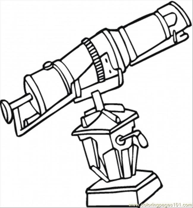 for the observatory coloring page