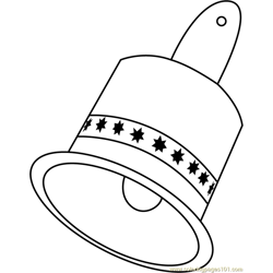 Big Bell coloring page