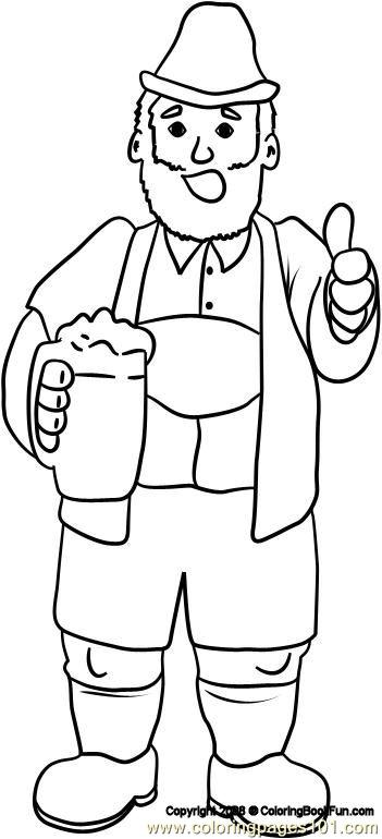 19 Germany 6 Coloring Page Free