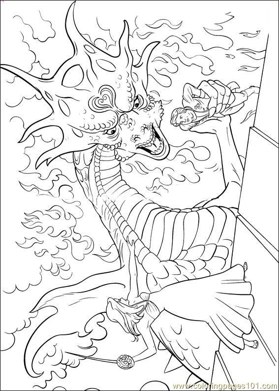 Enchanted Coloring Pages (12) Coloring Page