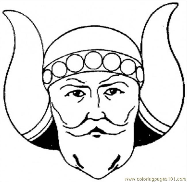 Viking Coloring Page Free Others Coloring Pages