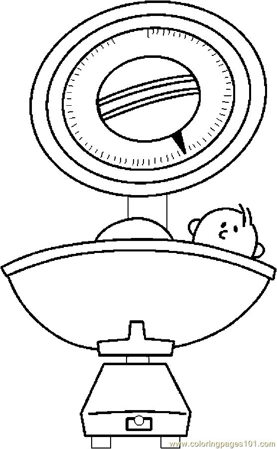 Baby Scale Coloring Page Free Others Coloring Pages