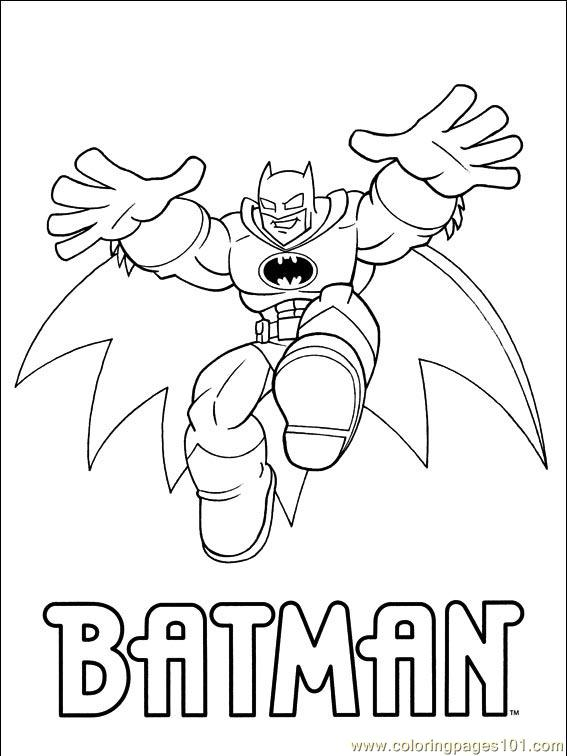 Dc Comics 001 (1) Coloring Page