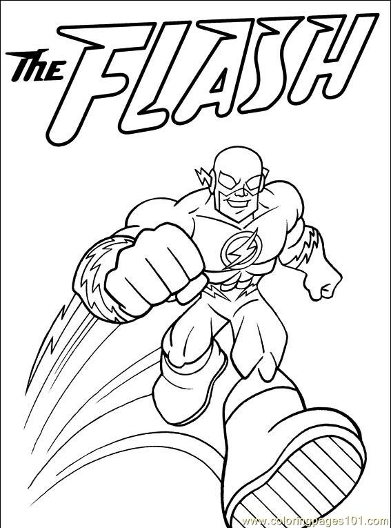 Dc Coloring Sheets