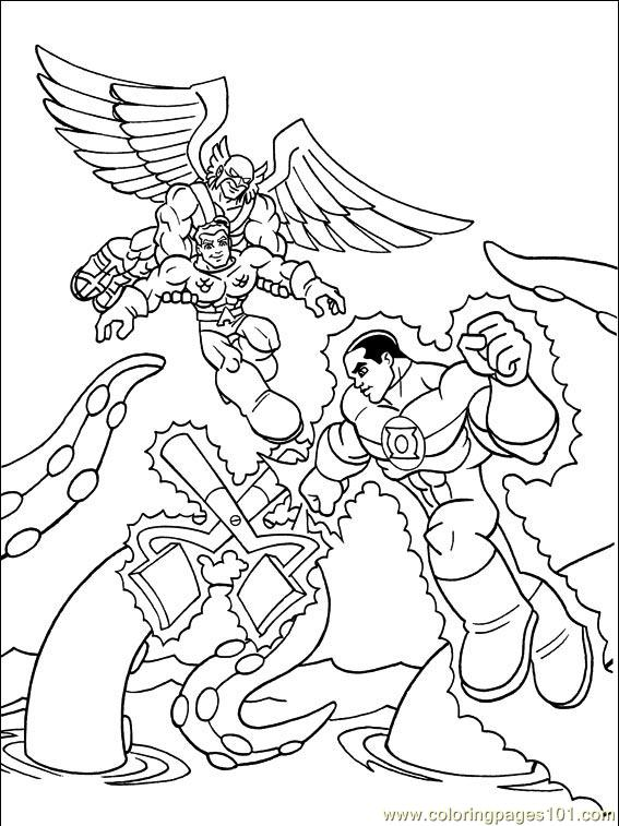 Dc comics 009 14 coloring page free others coloring for Dc universe coloring pages