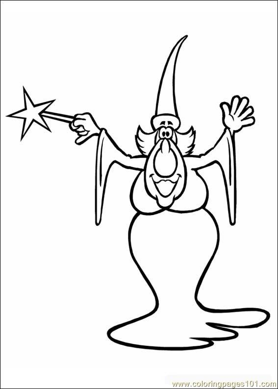 Fantacy 010 Coloring Page