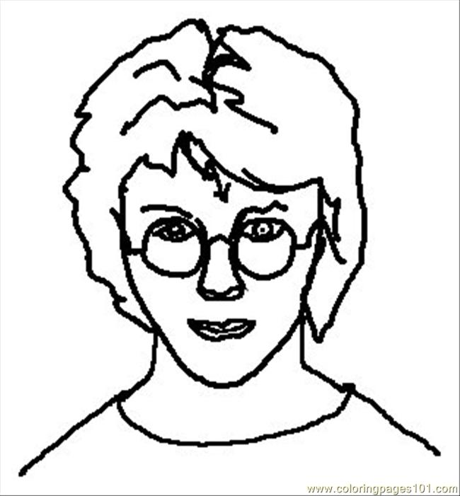 Harry Potter Coloring Pages 1 Coloring Page