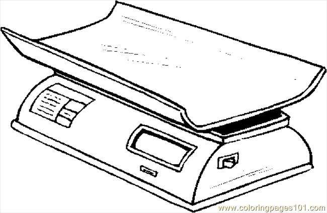 Infant Scale 2 Coloring Page Free Others Coloring Pages