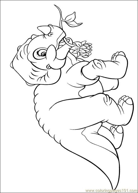 - Land Before Time 25 Coloring Page - Free Others Coloring Pages :  ColoringPages101.com