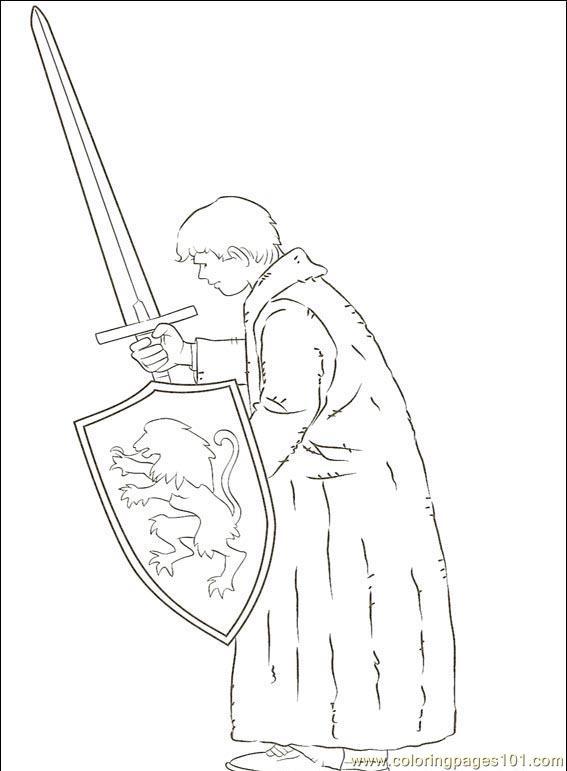 Narnia 001 9 Coloring Page