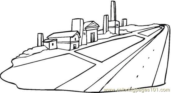Neighborhood 7 Coloring Page Free Others Coloring