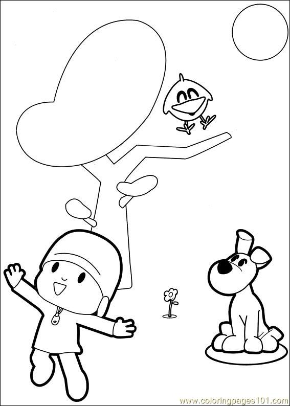 Pocoyo 06 Coloring Page Free Others Coloring Pages
