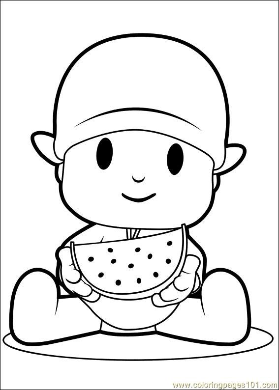 Pocoyo 08 Coloring Page - Free Others Coloring Pages ...