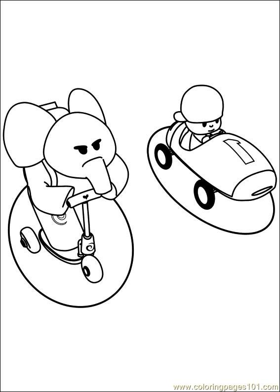 Pocoyo Coloring Pages Pdf : Pocoyo coloring page free others pages