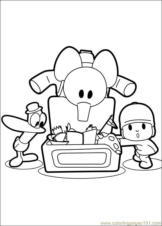 Pocoyo 12 Coloring Page Free Others Coloring Pages
