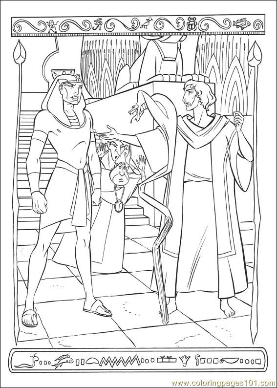Prince Egypt 22 Coloring Page
