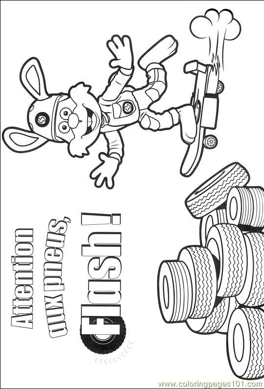 Roary 014 (2) Coloring Page