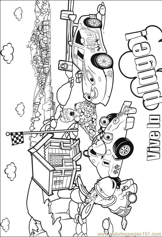 Roary 014 (3) Coloring Page