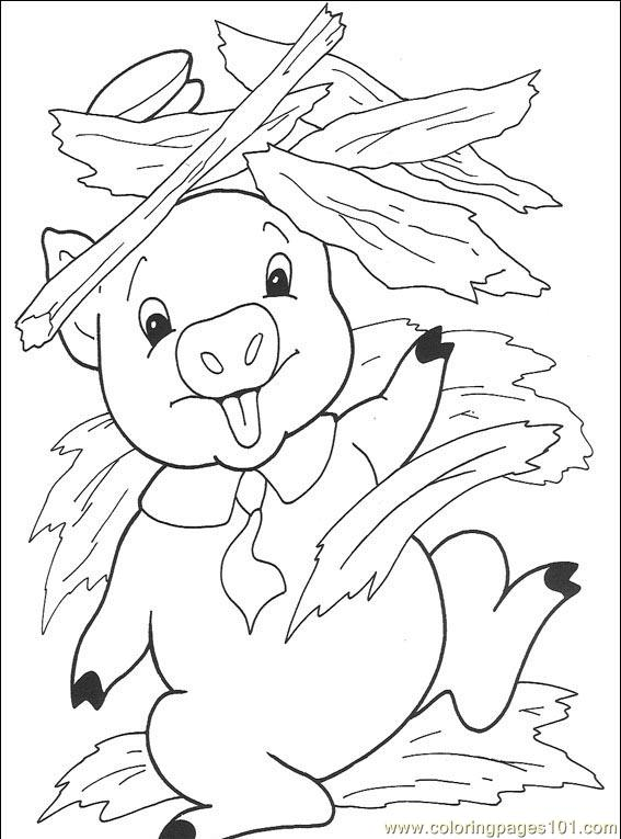 The Three Little Pigs 008 (5) Coloring Page