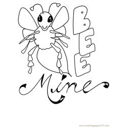 Bee Be Mine Valentine