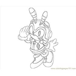 Charmy Bee Action